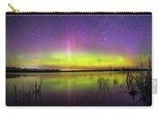 Aurora Borealis Over Lake Sinai Carry-all Pouch