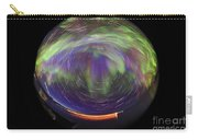 Aurora Borealis, Time-exposure Fisheye Carry-all Pouch