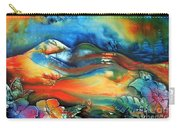 Aurora By Reina Cottier Carry-all Pouch