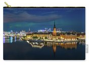 Aurora Over Stockholm In The Fall 2018 Carry-all Pouch