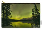 Aurora Over The Forest Carry-all Pouch