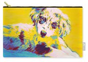 Aussie Puppy-yellow Carry-all Pouch