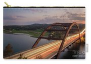 Austin 360 Bridge At Night Carry-all Pouch