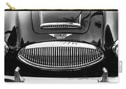 Austin Healey 3000mk II Grille - 0161bw Carry-all Pouch