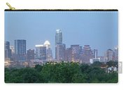 Austin Texas Building Skyline After The The Lights Are On Carry-all Pouch