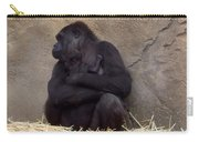 Australia - Baby Gorilla In Mums Arms Carry-all Pouch