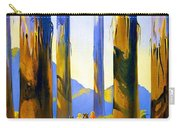 Australia - The Tallest Trees In The British Empire - Marysville, Victoria - Retro Travel Poster Carry-all Pouch