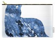 Australian Kelpie-blue Carry-all Pouch