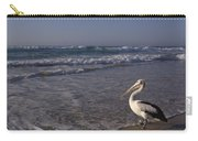 Australian Pelican And Surf Carry-all Pouch