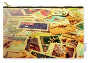 Australian Postal Background Carry-all Pouch