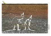 Australian Red Kangaroos Carry-all Pouch