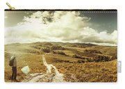 Australian Rural Panoramic Landscape Carry-all Pouch