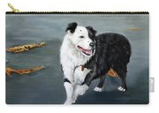 Australian Shepard Border Collie Carry-all Pouch