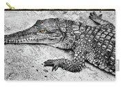 Australian Shy Crocodile  Carry-all Pouch