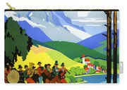 Austria Vintage Travel Poster Carry-all Pouch