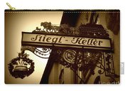 Austrian Beer Cellar Sign Carry-all Pouch