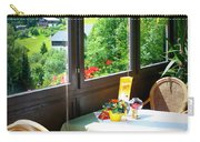 Austrian Cafe Carry-all Pouch by Carol Groenen