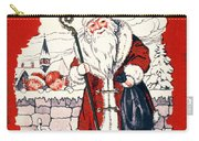 Austrian Christmas Card Carry-all Pouch