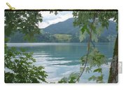 Austrian Lake Through The Trees Carry-all Pouch