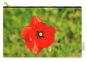 Austrian Poppy Carry-all Pouch