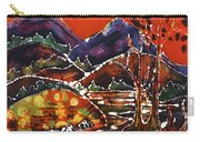 Autumn Adirondack Sunset Carry-all Pouch by Carol Law Conklin