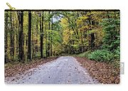 Autumn Along A Country Road 1 Carry-all Pouch