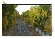 Autumn Along The Tracks Carry-all Pouch