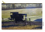 Autumn Amish Horse Buggy Carry-all Pouch
