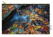 Autumn At A Mountain Stream Carry-all Pouch by Rick Berk