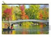 Autumn At Bow Bridge Central Park Carry-all Pouch