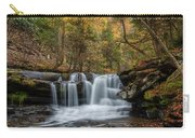 Autumn At Dunloup Creek Falls Carry-all Pouch