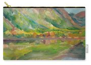 Autumn At Lake Mcdonald In Glacier National Park Carry-all Pouch