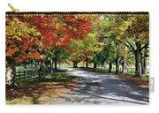 Autumn At Oatlands Lane Carry-all Pouch