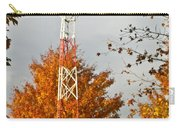 Autumn At The Airport Light Tower Carry-all Pouch