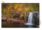 Autumn At Wolf Creek Falls Carry-all Pouch