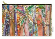 Autumn Bamboo Carry-all Pouch by Marionette Taboniar