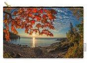 Autumn Bay Near Shovel Point Carry-all Pouch