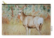 Autumn Beauty- Mule Deer Doe  Carry-all Pouch