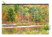 Autumn Beaver Pond Carry-all Pouch