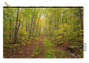 Autumn Birch Woods Carry-all Pouch
