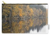 Autumn Birches On The Shore Of Lake Carry-all Pouch