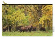Autumn Bison Carry-all Pouch