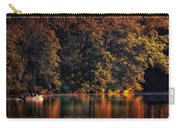 Autumn Boating At Argyle Lake Carry-all Pouch