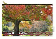 Autumn By The River On 105 Carry-all Pouch