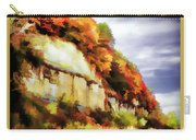 Autumn Cliffs On Way To Hannibal, Missouri Carry-all Pouch