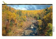 Autumn Color Along Beaver River Carry-all Pouch