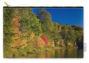 Autumn Color Trees Along Beauty Lake Carry-all Pouch