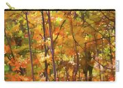 Autumn Colored Carry-all Pouch