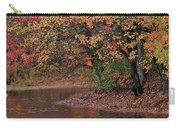 Autumn Colors By The Pond Carry-all Pouch