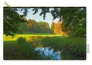 Autumn Colors In A Park Carry-all Pouch